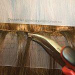 VLASOVÉ PÁSKY Balmain DoubleHair - dvojitá struktura vlasů,3 aplikační metody,černá, 55cm
