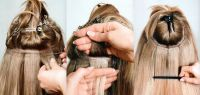 TAPE IN ROYAL,VLASOVÉ PÁSKY č.60 světlá blond,70g,50cm, 20kusů PERFEKTVLASY