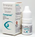 Bimatoprost Ophthalmic Solution - Careprost 3ml, 0,03%+ štěteček SUNPHARMA