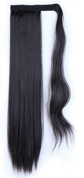 CULÍK --různé barvy, rovný,55-60cm,s omotávkou ze stejných vlasů