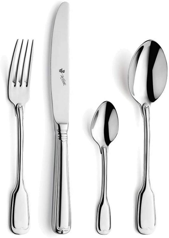 Příbory Paul Wirths AUGSBURGER FADEN 24 ks luxusní jídelní příbory